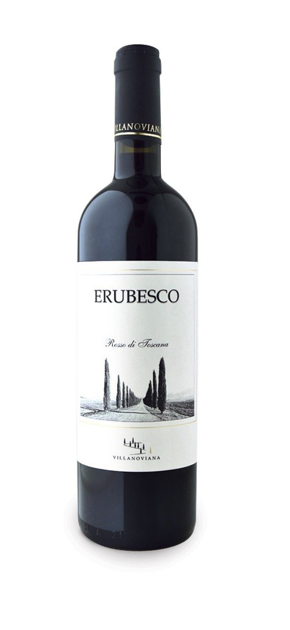 Image of Erubesco Rosso di Toscana IGT 2018 - Azienda Agricola Villanoviana (150 cl)