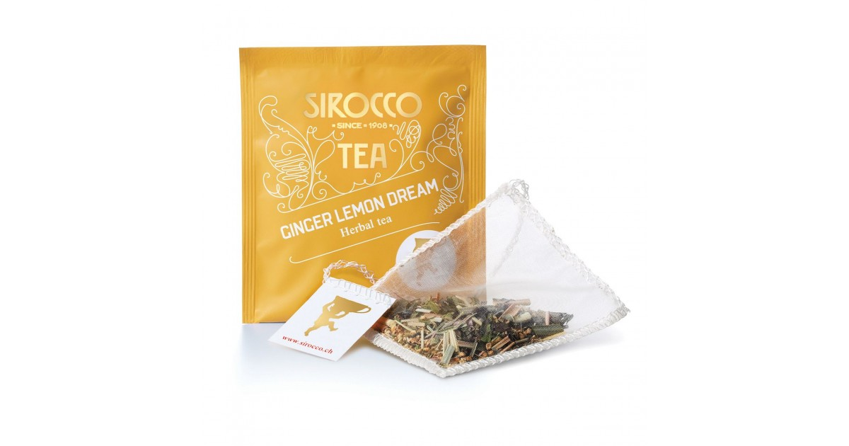 Sirocco Ginger Lemon Dream (20 sachets)