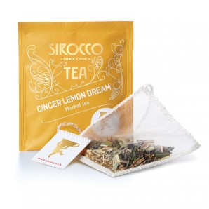 Sirocco Ginger Lemon Dream (20 sachets)