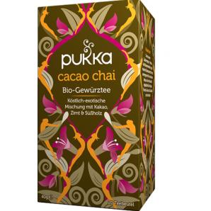 Pukka Cacao Chai Bio-Gewürztee (20 Beutel)