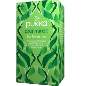 Pukka Drei Minze Bio-Kräutertee (20 Beutel)