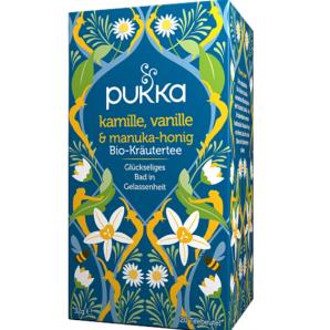 Pukka Kamille, Vanille & Manuka-Honig Bio-Tee (20 Beutel)