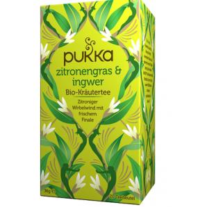 Pukka Zitronengras & Ingwer Bio-Tee (20 Beutel)