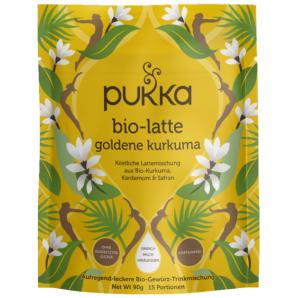 Pukka Bio-Latte goldene Kurkuma Beutel (90g)