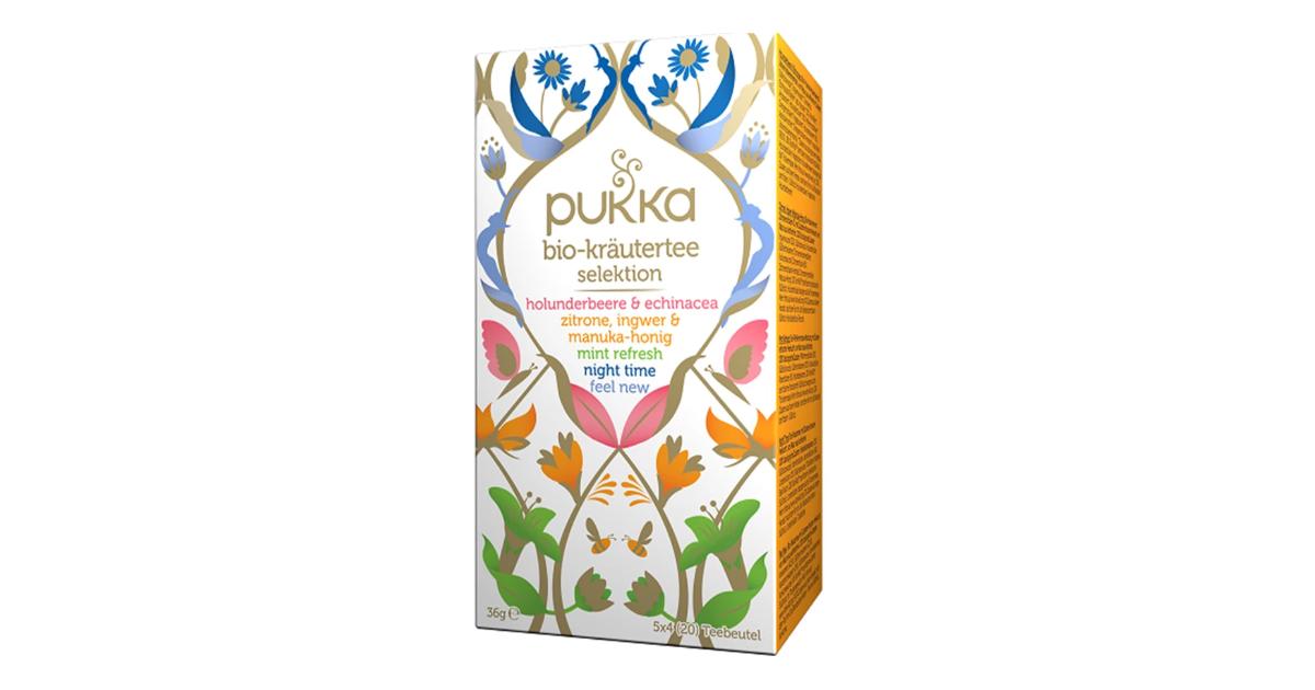 Pukka Kräutertee Selektion Bio-Tee (20Beutel)