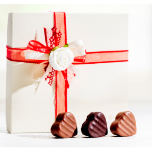 Heart chocolates -...