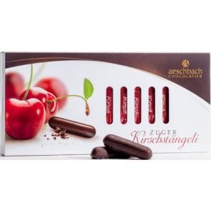 Aeschbach Chocolatier Kirschstängeli Schiebeschachtel (125g)