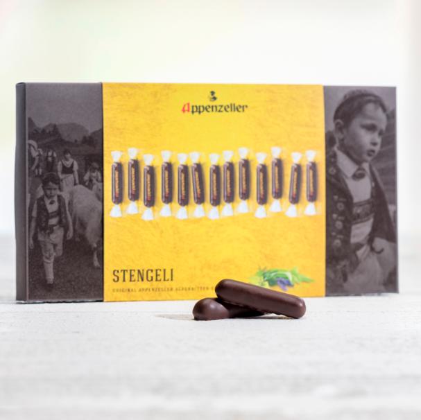 Image of Aeschbach Chocolatier Appenzeller Schiebeschachtel (125g)