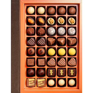 Aeschbach Chocolatier Fibel Pralines & Truffles (40 pieces)