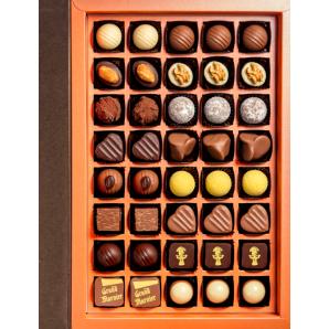 Aeschbach Chocolatier Fibel Pralinés & Truffes (63 Stück)
