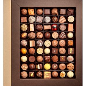 Aeschbach Chocolatier Fibel Pralines & Truffles (84 pieces)