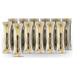 Barebells White Chocolate Almond Protein Riegel (12 x 55g)