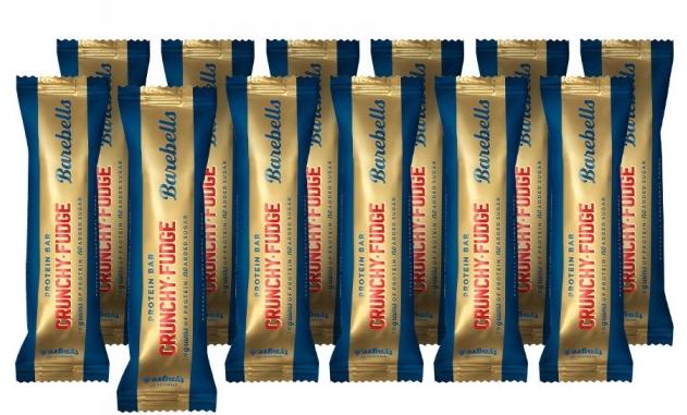 Image of Barebells Crunchy Fudge Protein Riegel (12 x 55g)