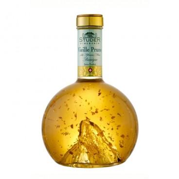 Studer - Vieille Prune Royal mit echtem Goldflitter, 22 Karat, (70cl)