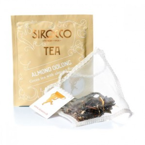 Sirocco Almond Oolong tea bags (20 pcs)