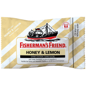 Fisherman's friend Honey & Lemon ohne Zucker (25g)