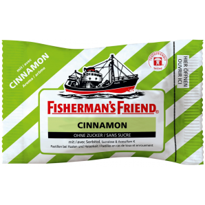Fisherman's friend Cinnamon ohne Zucker (25g)