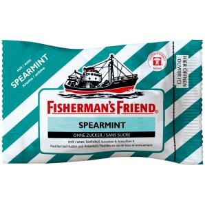 Fisherman's friend Spearmint without sugar (25g)