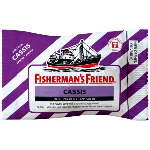 Fisherman's friend Cassis ohne Zucker (25g)