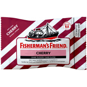 Fisherman's friend Cherry ohne Zucker (25g)