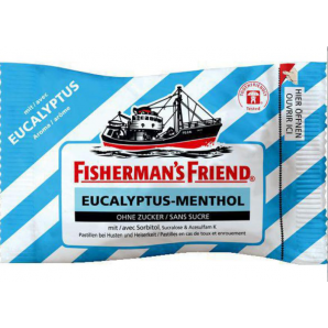 Fisherman's friend Eucalyptus-Menthol ohne Zucker (25g)