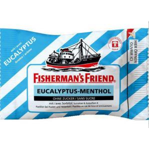 Fisherman's friend Eucalyptus menthol without sugar (25g)