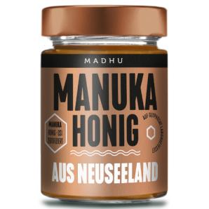 Madhu Honey Manuka Buschhonig MGO30 (250g)