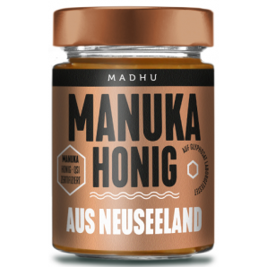 Madhu Honey Manuka Bush Honey MGO30 (250g)