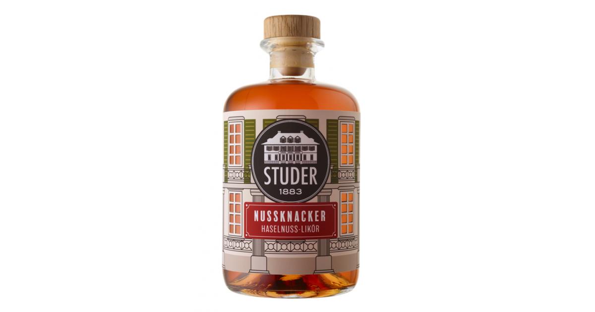 Studer hazelnut liqueur (50cl)