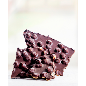 Huusschoggi dark with hazelnuts Aeschbach Chocolatier (200g)