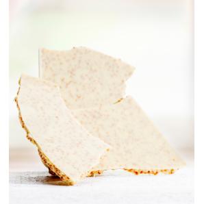 Huusschoggi white with nougat brittle Aeschbach Chocolatier (200g)