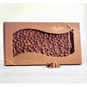 Giant bar of milk chocolate Aeschbach Chocolatier (1000g)