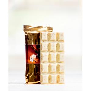 Tafel Weiss Mit Nougatsplitter Aeschbach Chocolatier (100g)