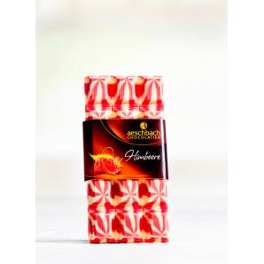 Création Raspberry Bar Aeschbach Chocolatier (100g)