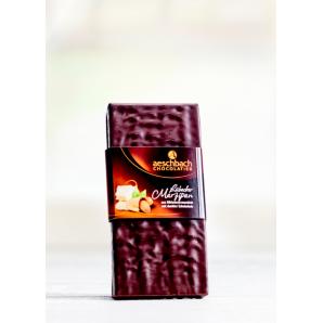 Tafel Dunkel Mit Lübecker Marzipan Aeschbach Chocolatier (100g)