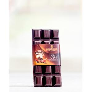 Bar Criolloro 66% With Chili Aeschbach Chocolatier (100g)