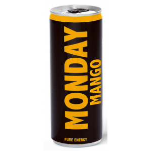 MONDAY Mango Energy Drink (250ml)