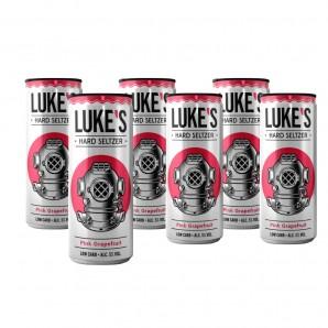 LUKE'S Hard Seltzer Pink...