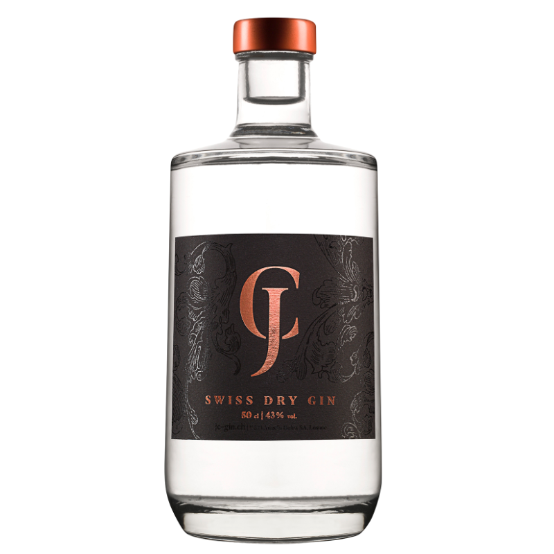 JC Swiss Dry Gin (50cl)