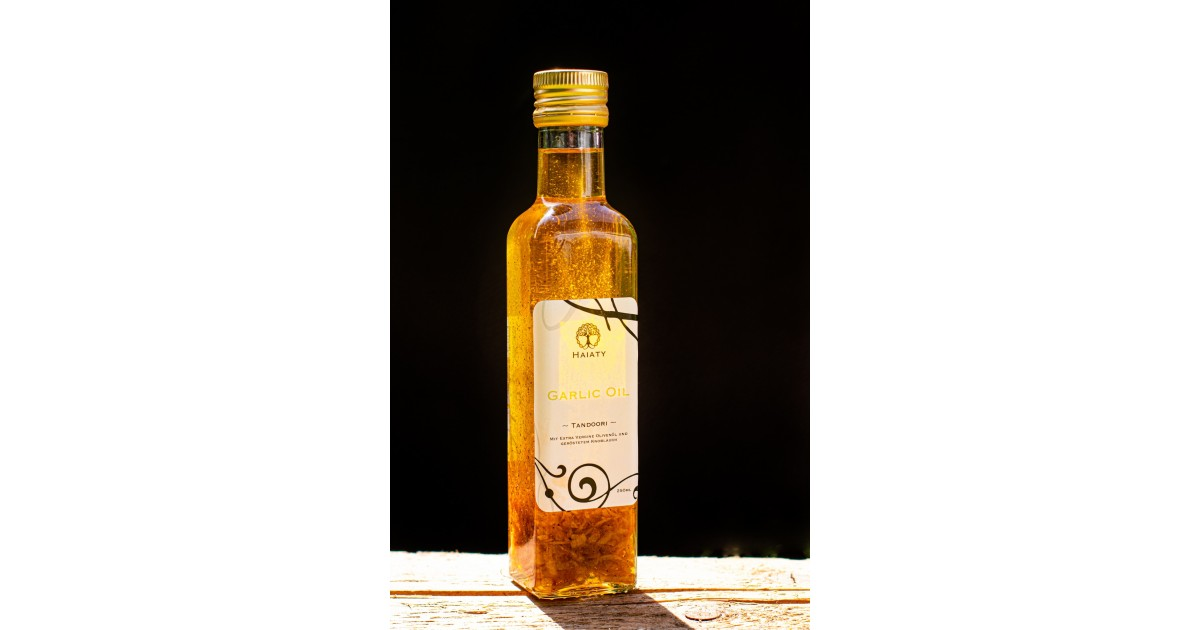 "HAIATY Garlic Oil ""Tandoori"" (250ml)"