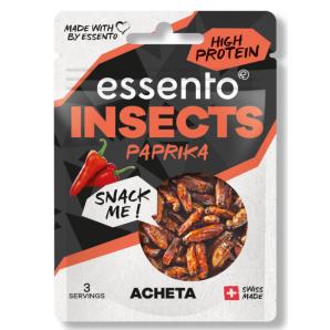 essento Insect Snack Paprika Acheta (15g)