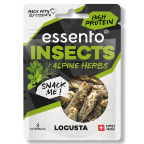 essento Insect Snack Alpine Herbs Locusta (8g)