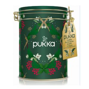 Pukka Gift tin green (30 bags)