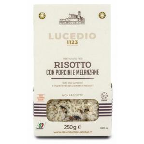 Principato di Lucedio risotto con porcini e melanzane (250g)