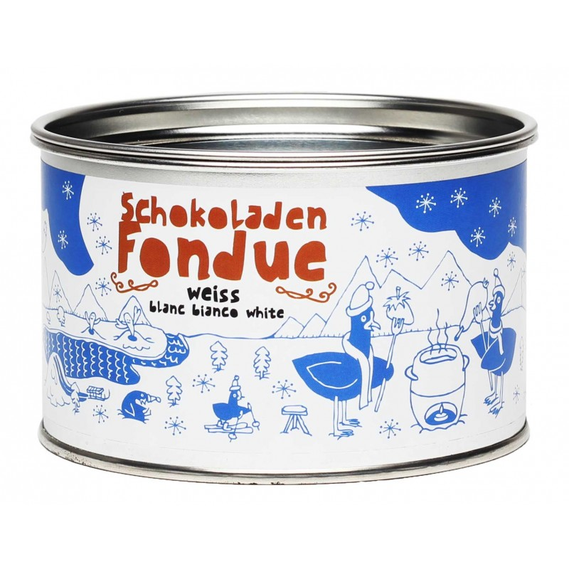 Taucherli Schokoladenfondue Weiss (250g)