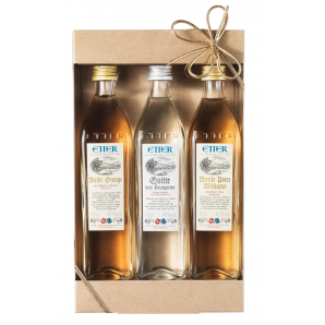 Etter Vieille Orange, Quince, Vieille Poire Williams Gift Box (3x10cl)