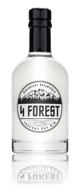 Image of 4 Forest Lucerne Dry Gin (70cl)