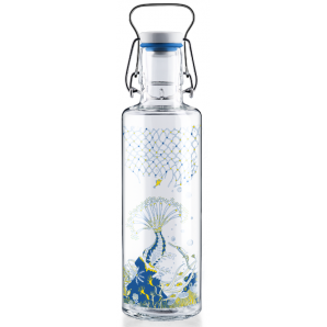 Soulbottles corals with handle (0.6l)