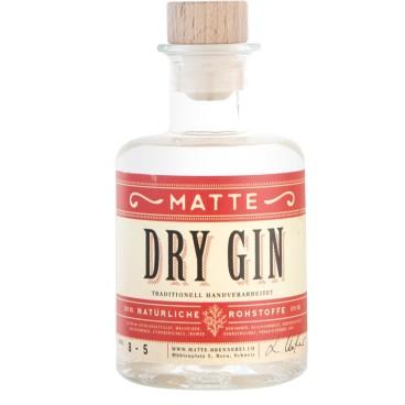 Matte Brennerei Dry Gin (2dl)
