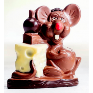 Aeschbach Chocolatier Chocolate Laughing Mouse (190g)